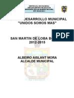 PDM San Martín de Loba - Bolívar UNIDOS SOMOS MAS