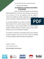 MODULO PERU DEL CONGRESO DE LA REPÚBLICA POR PRIMERA VEZ EN ANCASH