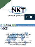 Presentacion Toners NKT