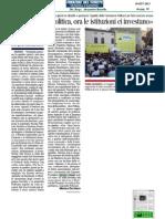 Festival Della Politica - Rassegna Stampa 10 Settembre
