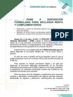 32 Declaracion de Renta y Complementarios