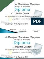 Diploma Computacion Parroquia