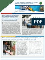 Boletín No. 11.  Programa Regional de USAID para el Manejo de Recursos Acuáticos y Alternativas Económicas.