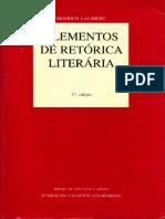 Heinrich Lausberg - Elementos de Retorica Literaria