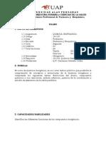 Silabo de Quimica Inorganica