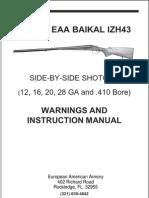 IZH 43 Manual