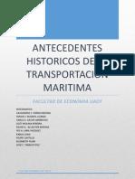 Antecedentes historicos de la Transportación Marítima (1)