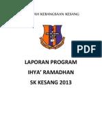 Laporan Penuh Ihya Ramadhan