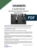 Chambers Press - Pedestrain