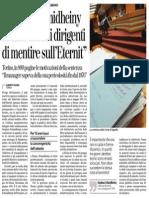 3.9.2013 La Stampa Gaino Ordino Di Mentire