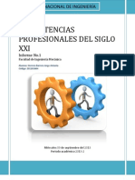 Informe de Competencias