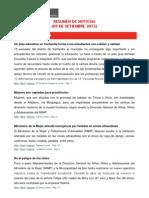Resumen de Noticias 09-09-13