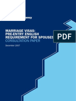English for Spouse Consultation
