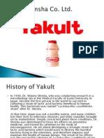 yakult manufacturer