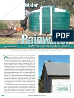 Well Water to Rainwater Home Power Mag Jul12