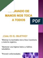 CAPACITACIÓN LAVADO DE MANOS