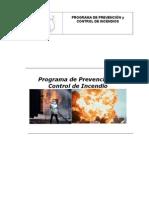 PROGRAMA de Incendio