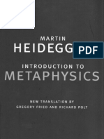 Martin Heidegger-Introduction to Metaphysics (Yale Nota Bene) (2000)