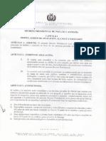 Decreto de Indulto y Amnistia