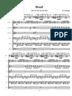 Brasil (na na na na na) arrangement for octet