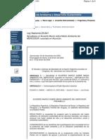 Acuerdo Marco Sobre Medio Ambiente Del Mercosur Ley_25841