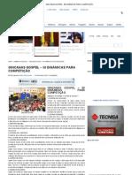 GINCANAS GOSPEL - 50 DINÂMICAS PARA COMPETIÇÃO