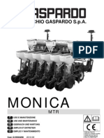 Gaspardo Precision Drill Monica Mtr Operators Manual