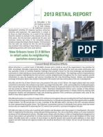 NOLA Business Alliance 2013 Retail Report