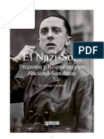 Nazi-Sozi. Preguntas y Respuestas Para Nacional-socialistas - Goebbels