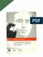 Burgos, Raul -Los Gramscianos Argentinos