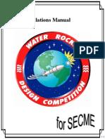 Rockets Calculations Manual