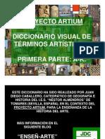 Diccionario Visual de Arte I