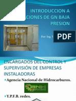 Introduccion a Instalaciones de Gn Baja Presion