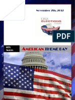 The U.S. Presidential Election Oana