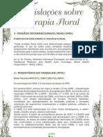 legislações sobre a terapia floral