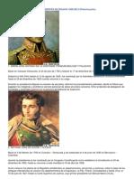 Presidentes de Bolivia 1825 1ra Parte