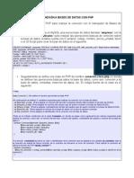 Conexion BD PHP