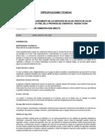 ESPECIFICACIONES TECNICAS-HUAYTIRE