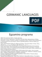 1. Germanic hghjklLanguages