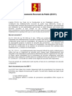 ERP Classement Et Normes