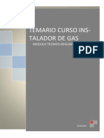 Temario Instalador Gas Categoria b