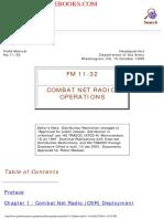 1990 US Army Combat Net Radio Operations 128p