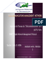 Aprroaches of Management and SNMP