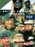 British Defence Doctrine