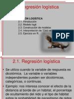 2 Regresión logística