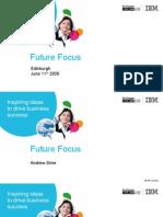 Future Focus Edinburgh - Morning Presentations
