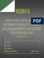 Astier Et Al. 1999. El MESMIS, e Indicadores