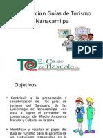 Capacitación Guías de Turismo Nanacamilpa