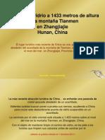 China-Puente de Vidrio en Tianmen