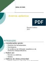 Anemia aplástica ufpa 2013